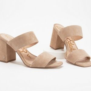 Sam Edelman Delaney Slide Sandal Oatmeal